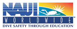 National Association of Underwater Instructors (NAUI) logo