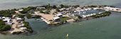 Aerial view of Seacamp in Big Pine Key, FL