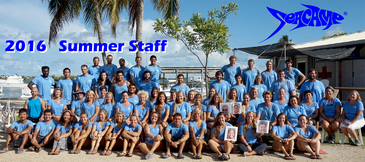 Seacamp Staff of 2016
